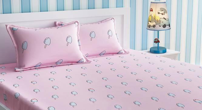 Anton Bedsheet Set (Pink, Double Size) by Urban Ladder - Design 1 Details - 321079