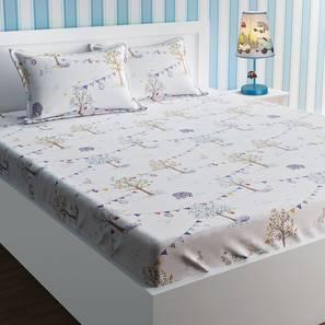 Sydney bedsheet set white kids double lp