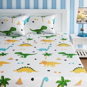 Elise bedsheet set white kids double lp