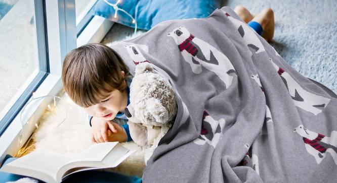 Barney Blanket by Urban Ladder - Design 1 Details - 321153