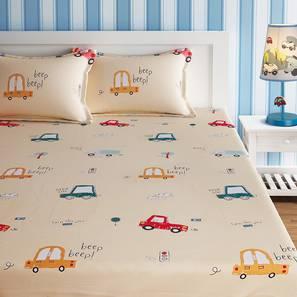 Noelle bedsheet set yellow kids double lp
