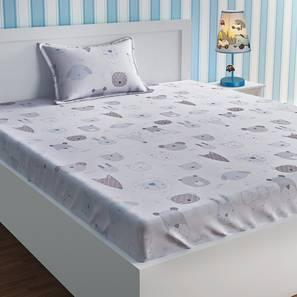 Emmeline Bedsheet Set (White, Single Size) by Urban Ladder - Design 1 Details - 321298