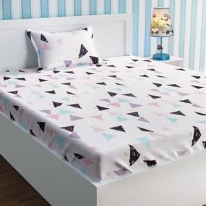 Brittany bedsheet set white kids single lp