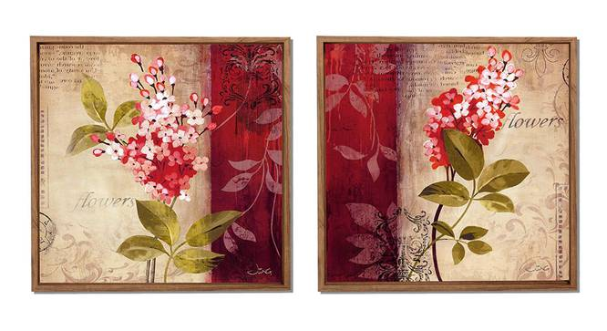 Celine Wall Decor-Set of 2 by Urban Ladder - Front View Design 1 - 321374