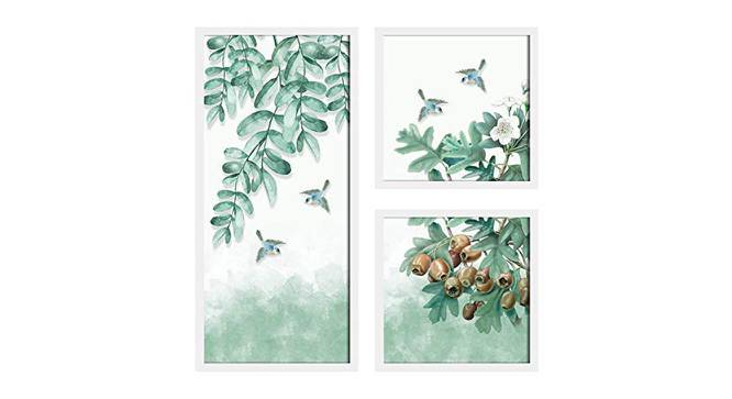 Violette Wall Decor-Set of 3 by Urban Ladder - Front View Design 1 - 321436