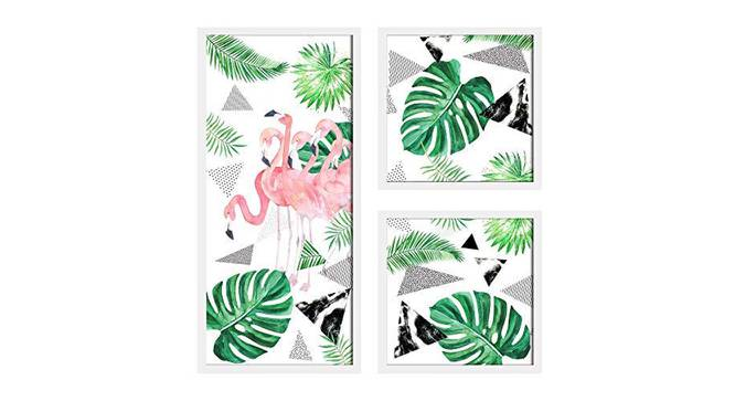 Mia Wall Decor-Set of 3 by Urban Ladder - Front View Design 1 - 321462