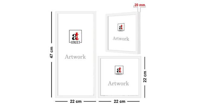Luna Wall Decor-Set of 3 by Urban Ladder - Cross View Design 1 - 321466