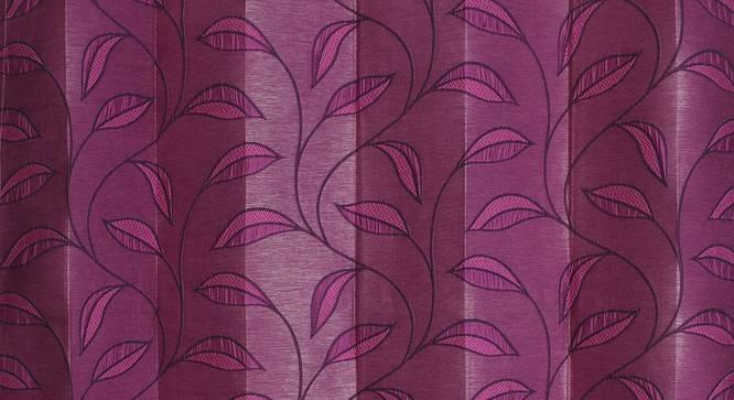 "Belmira Door Curtain - Set Of 2 (Pink, 112 x 274 cm  (44"" x 108"") Curtain Size) by Urban Ladder - Design 1 Close View - 321617"