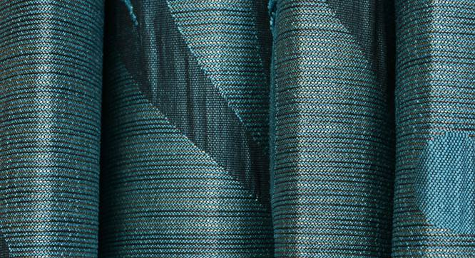 "Cinder Door Curtain - Set Of 2 (Blue, 112 x 213 cm  (44"" x 84"") Curtain Size) by Urban Ladder - Design 1 Close View - 321650"