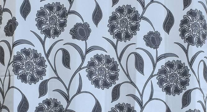 "Kaia Window Curtain - Set Of 2 (Grey, 112 x 152 cm  (44"" x 60"") Curtain Size) by Urban Ladder - Design 1 Close View - 321922"