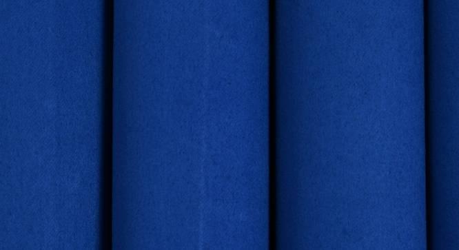 "Lillian Door Curtain - Set Of 2 (Blue, 112 x 213 cm  (44"" x 84"") Curtain Size) by Urban Ladder - Design 1 Close View - 321945"