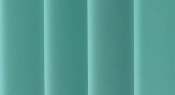 "Lillian Door Curtain - Set Of 2 (Aqua, 112 x 274 cm  (44"" x 108"") Curtain Size) by Urban Ladder - Design 1 Close View - 321963"