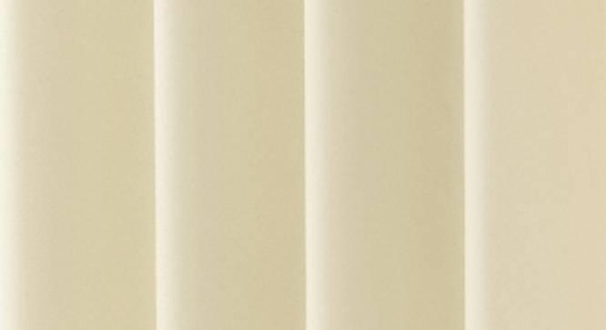 "Lillian Door Curtain - Set Of 2 (Cream, 112 x 274 cm  (44"" x 108"") Curtain Size) by Urban Ladder - Design 1 Close View - 321987"