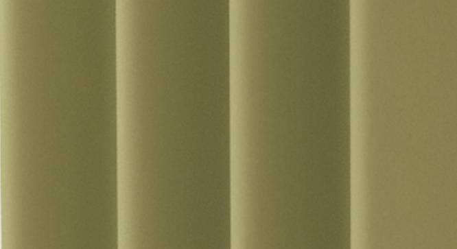 "Lillian Door Curtain - Set Of 2 (Green, 112 x 213 cm  (44"" x 84"") Curtain Size) by Urban Ladder - Design 1 Close View - 321991"