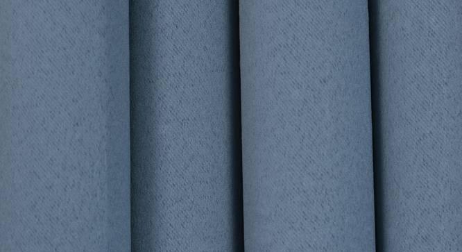"Lillian Door Curtain - Set Of 2 (Dark Grey, 112 x 274 cm  (44"" x 108"") Curtain Size) by Urban Ladder - Design 1 Close View - 322001"
