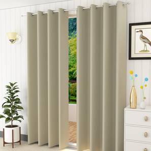 Lillian door curtain set of 2 grey 7 lp
