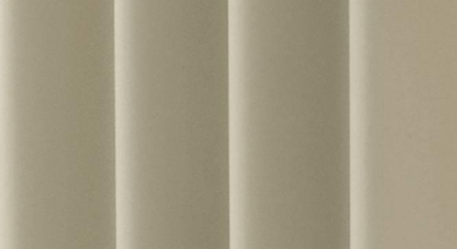 "Lillian Door Curtain - Set Of 2 (Grey, 112 x 274 cm  (44"" x 108"") Curtain Size) by Urban Ladder - Design 1 Close View - 322010"