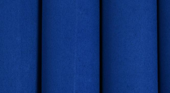 "Lillian Window Curtain - Set Of 2 (Blue, 112 x 152 cm  (44"" x 60"") Curtain Size) by Urban Ladder - Design 1 Close View - 322062"