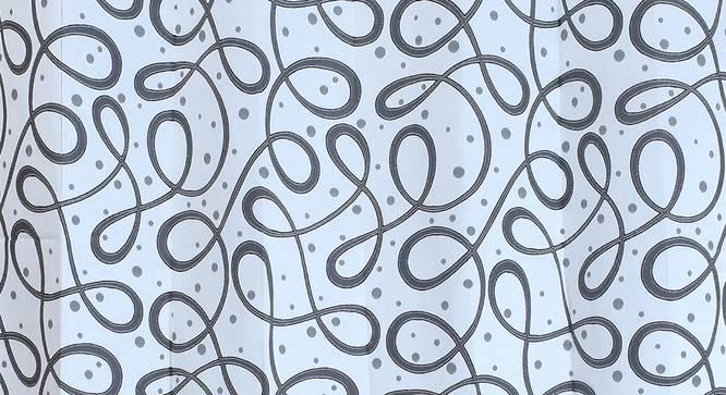 """Maren Door Curtain - Set Of 2. (Grey, 112 x 274 cm  (44"""" x 108"""") Curtain Size) by Urban Ladder - Design 1 Close View - 322163"""