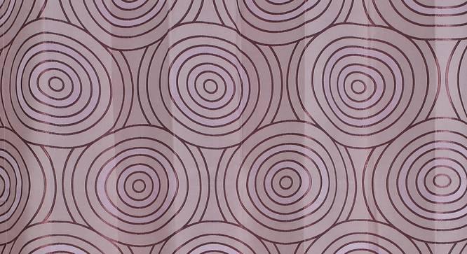 "Sage Window Curtain - Set Of 2 (Purple, 112 x 152 cm  (44"" x 60"") Curtain Size) by Urban Ladder - Design 1 Close View - 322307"