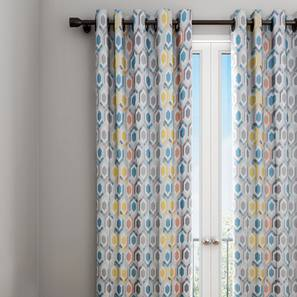 Nona curtain multi geometric 7 ft lp