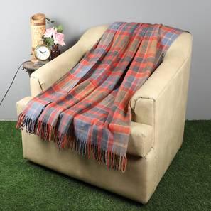 "Darby Throw (61 x 61 cm  (24"" X 24"") Cushion Size) by Urban Ladder - Design 1 Full View - 322467"