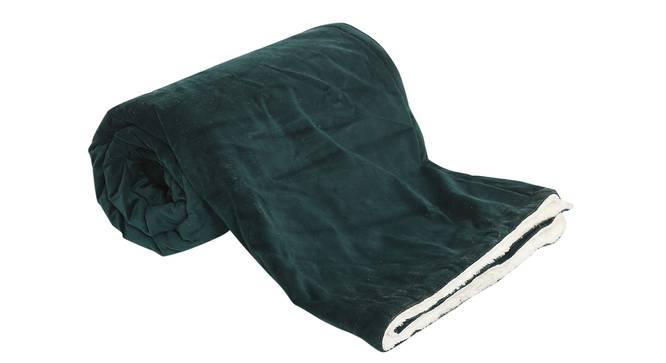 "Daisy Throw (Green, 61 x 61 cm  (24"" X 24"") Cushion Size) by Urban Ladder - Front View Design 1 - 322492"