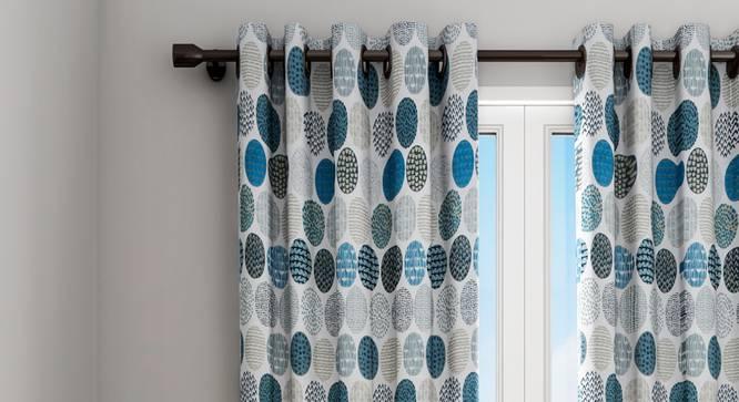 "Phoebe Curtain (122 x 274 cm(48"" x 108"") Curtain Size) by Urban Ladder - Design 1 Details - 322553"