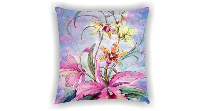 """Irvin Cushion Cover (41 x 41 cm  (16"""" X 16"""") Cushion Size) by Urban Ladder - Front View Design 1 - 322623"""