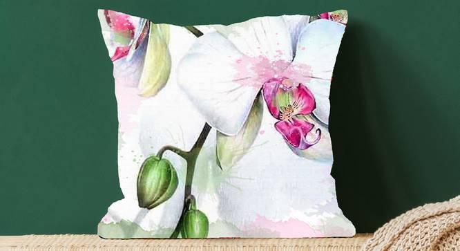"""Inman Cushion Cover (41 x 41 cm  (16"""" X 16"""") Cushion Size) by Urban Ladder - Design 1 Full View - 322634"""