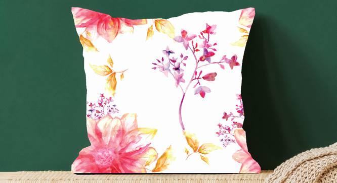 "Kohl Cushion Cover (41 x 41 cm  (16"" X 16"") Cushion Size) by Urban Ladder - Design 1 Full View - 322710"