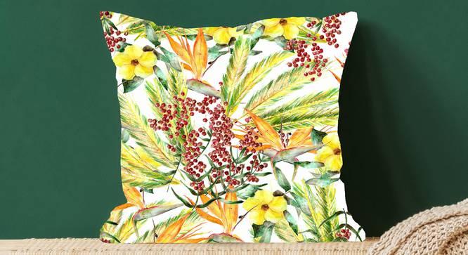 "Yalor Cushion Cover (41 x 41 cm  (16"" X 16"") Cushion Size) by Urban Ladder - Design 1 Full View - 322722"