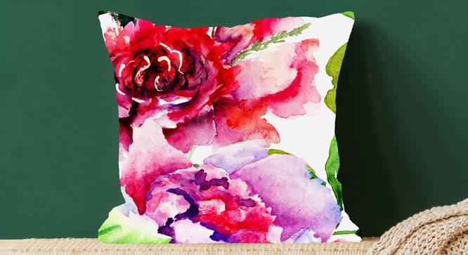"""Elane Cushion Cover (41 x 41 cm  (16"""" X 16"""") Cushion Size) by Urban Ladder - Design 1 Full View - 322773"""