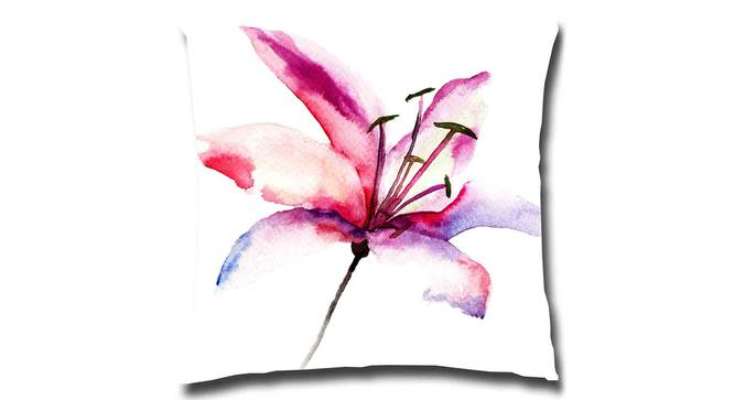 """Peeple Cushion Cover (41 x 41 cm  (16"""" X 16"""") Cushion Size) by Urban Ladder - Front View Design 1 - 322782"""