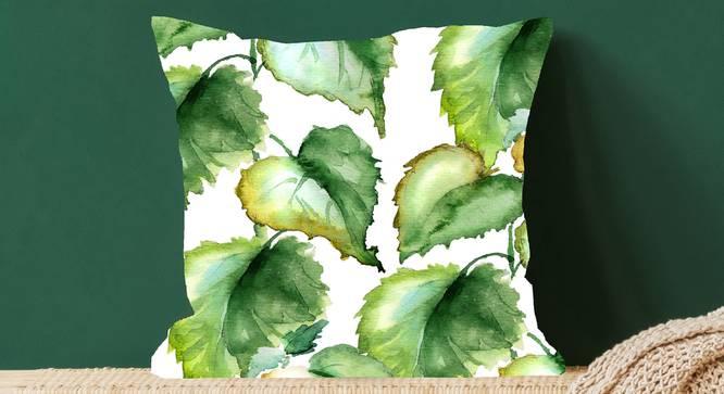 """Caro Cushion Cover (41 x 41 cm  (16"""" X 16"""") Cushion Size) by Urban Ladder - Design 1 Full View - 322836"""