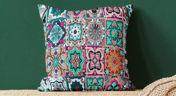 "Kandra Cushion Cover (41 x 41 cm  (16"" X 16"") Cushion Size) by Urban Ladder - Design 1 Full View - 322863"
