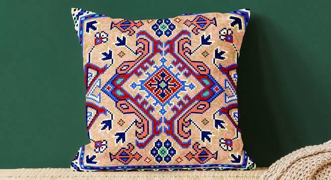"""Lura Cushion Cover (41 x 41 cm  (16"""" X 16"""") Cushion Size) by Urban Ladder - Design 1 Full View - 322949"""