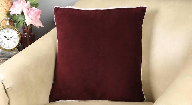 """Eva Cushion Cover (41 x 41 cm  (16"""" X 16"""") Cushion Size) by Urban Ladder - Design 1 Full View - 323019"""