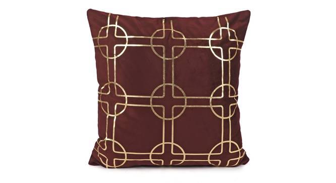 """Lonna Cushion Cover (41 x 41 cm  (16"""" X 16"""") Cushion Size) by Urban Ladder - Design 1 Full View - 323068"""