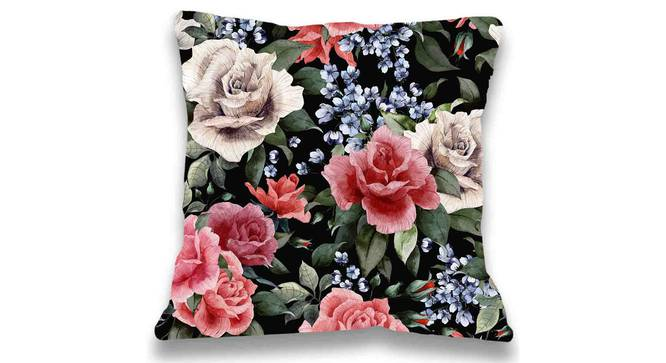 """Humes Cushion Cover (Blue, 41 x 41 cm  (16"""" X 16"""") Cushion Size) by Urban Ladder - Front View Design 1 - 323092"""