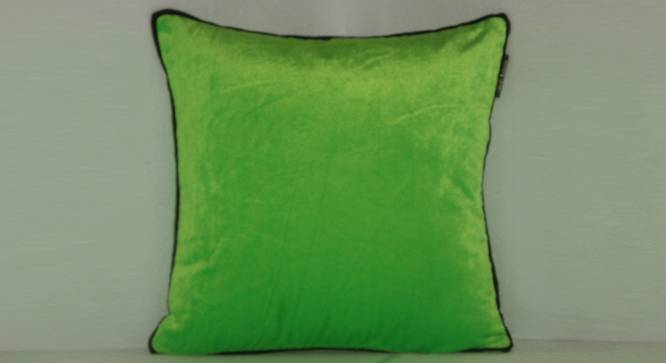 "Villa Cushion Cover (Grey, 41 x 41 cm  (16"" X 16"") Cushion Size) by Urban Ladder - Front View Design 1 - 323096"