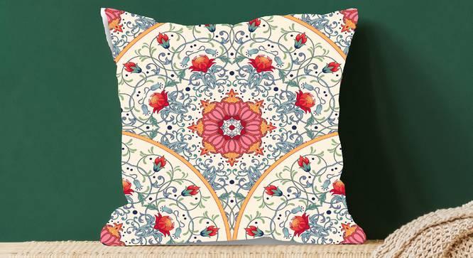 "Milli Cushion Cover (Grey, 41 x 41 cm  (16"" X 16"") Cushion Size) by Urban Ladder - Design 1 Full View - 323107"