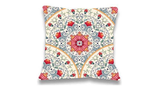 "Milli Cushion Cover (Grey, 41 x 41 cm  (16"" X 16"") Cushion Size) by Urban Ladder - Front View Design 1 - 323108"