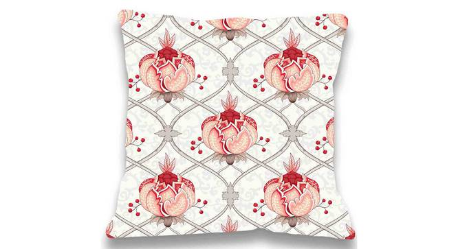 "Ana Cushion Cover (Beige, 41 x 41 cm  (16"" X 16"") Cushion Size) by Urban Ladder - Front View Design 1 - 323128"