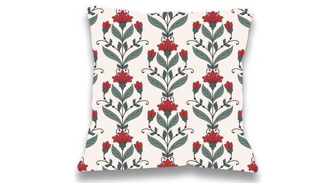 "Payton Cushion Cover (Green, 41 x 41 cm  (16"" X 16"") Cushion Size) by Urban Ladder - Front View Design 1 - 323136"