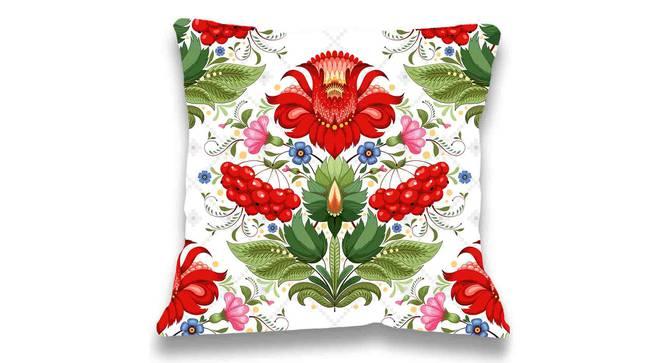 "Blanca Cushion Cover (41 x 41 cm  (16"" X 16"") Cushion Size) by Urban Ladder - Front View Design 1 - 323156"