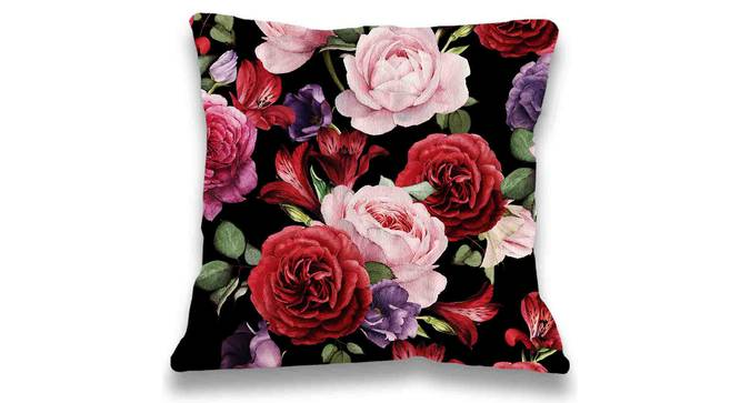 """Lucy Cushion Cover (Yellow, 41 x 41 cm  (16"""" X 16"""") Cushion Size) by Urban Ladder - Front View Design 1 - 323160"""