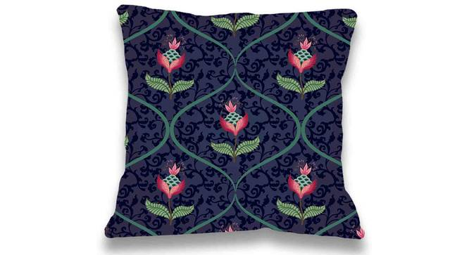 "Jenny Cushion Cover (41 x 41 cm  (16"" X 16"") Cushion Size, Maroon) by Urban Ladder - Front View Design 1 - 323188"