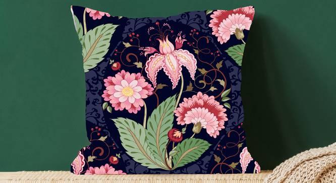 "Ellis Cushion Cover (Orange, 41 x 41 cm  (16"" X 16"") Cushion Size) by Urban Ladder - Design 1 Full View - 323191"