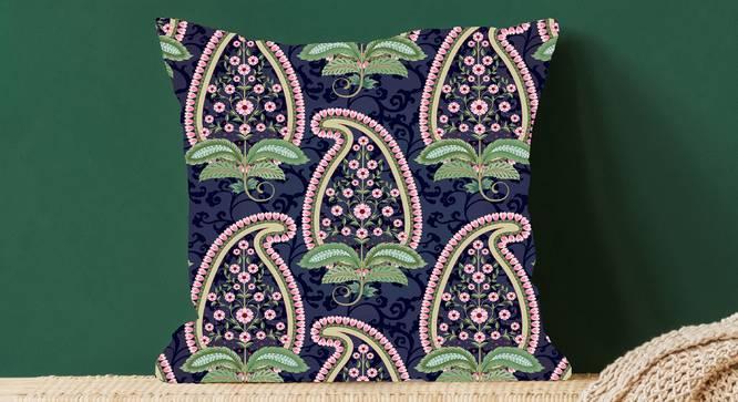 """Dana Cushion Cover (Aqua, 41 x 41 cm  (16"""" X 16"""") Cushion Size) by Urban Ladder - Design 1 Full View - 323195"""